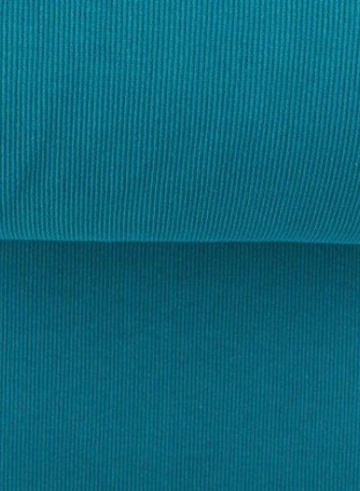 Copy of donkerbruin ribbel boordstof