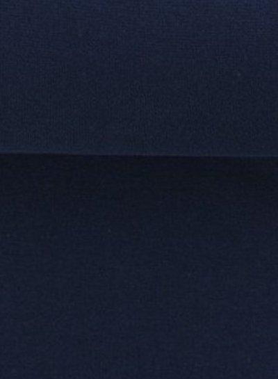 marineblauwe boordstof