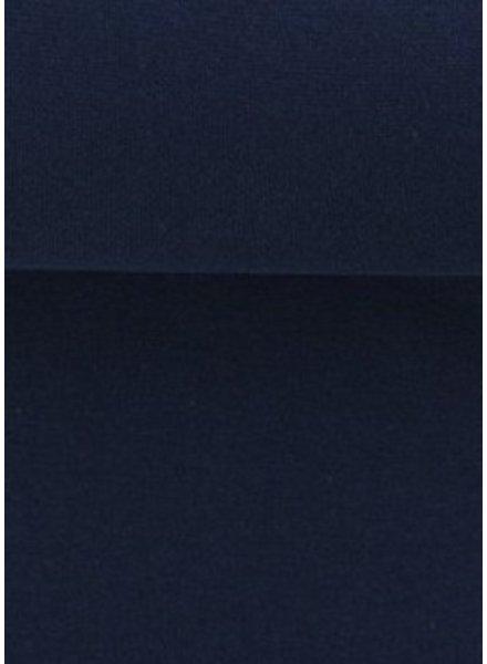 navy blue - solid rib cuff