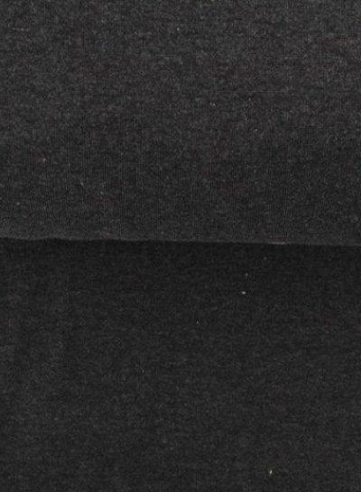 antraciet grijs ribbel boordstof