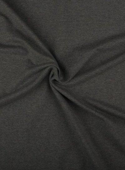 dark grey melee - french terry OEKO TEX