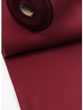 burgundy -solid french terry OEKO TEX