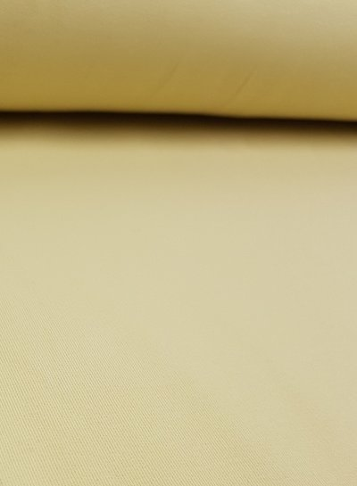 pastel geel -  french terry OEKO TEX