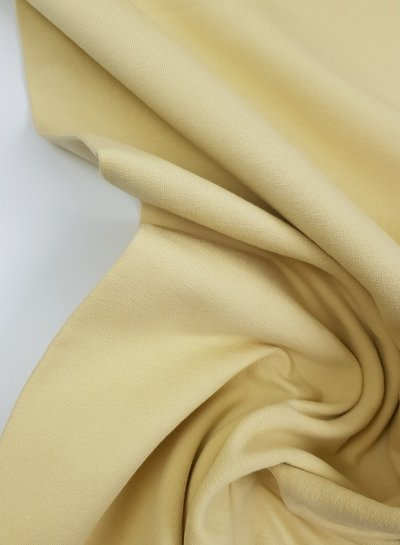 pastel yellow - french terry OEKO TEX
