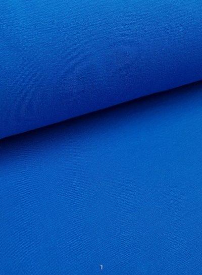licht kobalt - effen french terry OEKO TEX