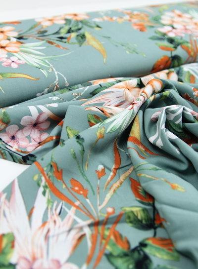 soft flowers  - viscose