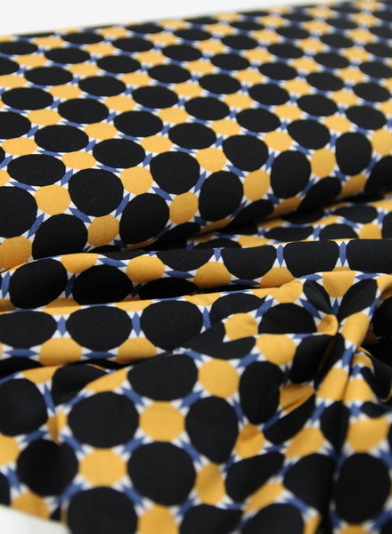 retro dots - viscose