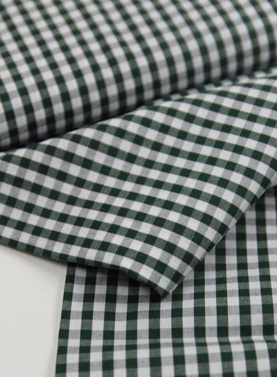 Vichy squares green - cotton