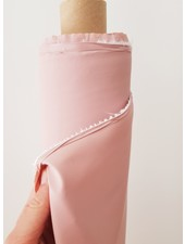 dusty pink rain coat PUL