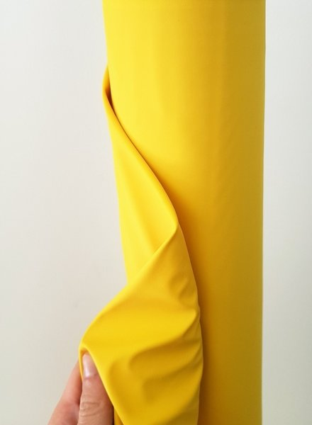 M geel regenjasstof PUL
