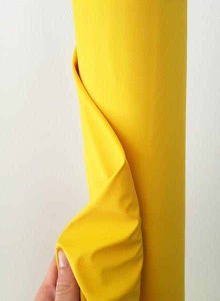 yellow rain coat fabric PUL