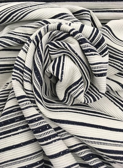 Lucie black textured knit