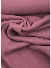 boiled wool - bouclé - dusty pink