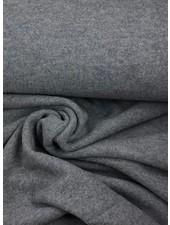 boiled wool - bouclé - grey melee