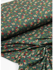 flowergarden green - viscose jersey