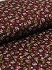 flowergarden bordeaux - viscose tricot