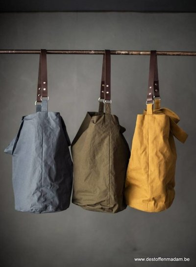 Merchant & Mills dry oilskin – rust