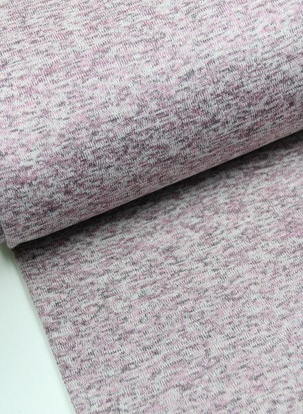 oudroze - gebreide sweaterstof