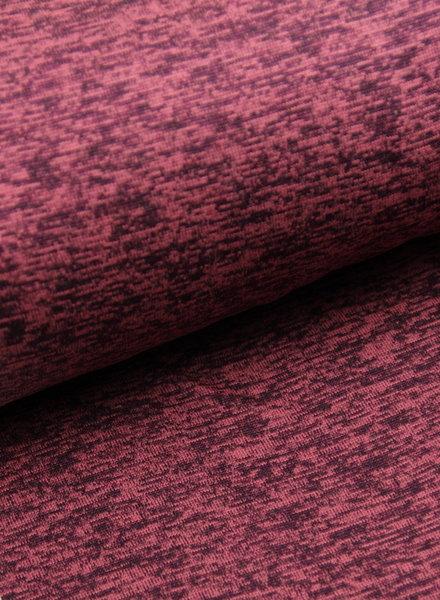 marsala - gebreide sweaterstof