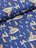 stokstaartje blauw - tricot