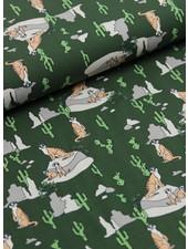 stokstaartje groen - tricot