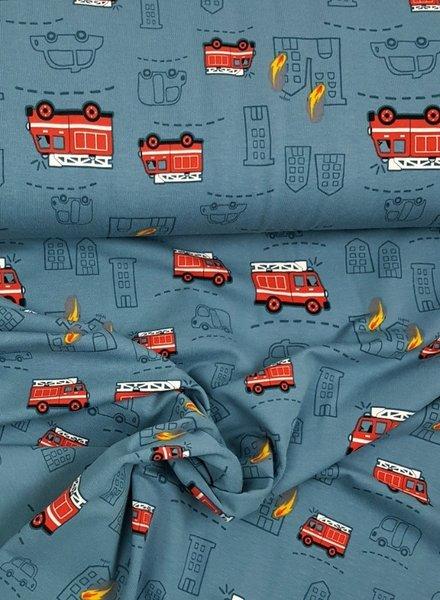 brandweerwagens - tricot