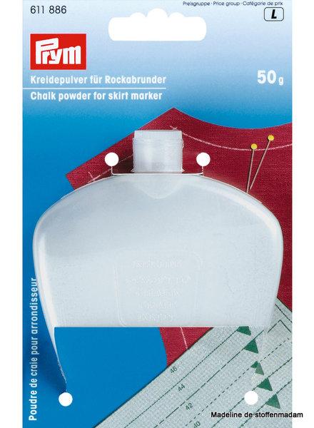 Prym Chalk powder for hem/skirt marker, 50g