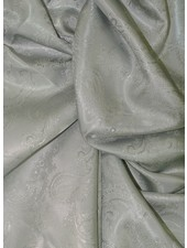 grey paisley -  lining
