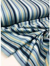 blauw gestreept - tricot
