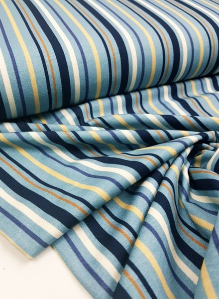blue striped - jersey