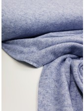 blauwe gebreide rayon - superzachte kwaliteit
