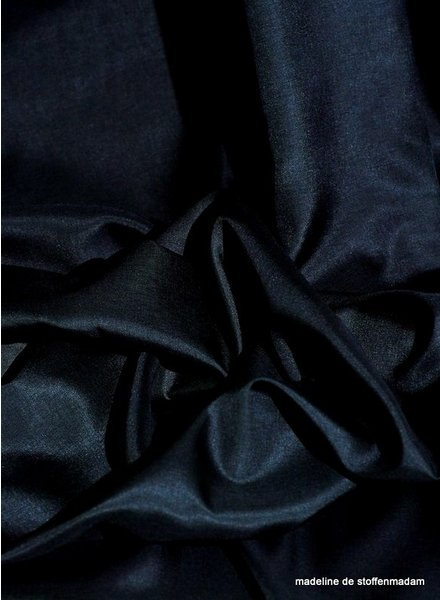 Venezia dark navy blue venezia stretch - lining