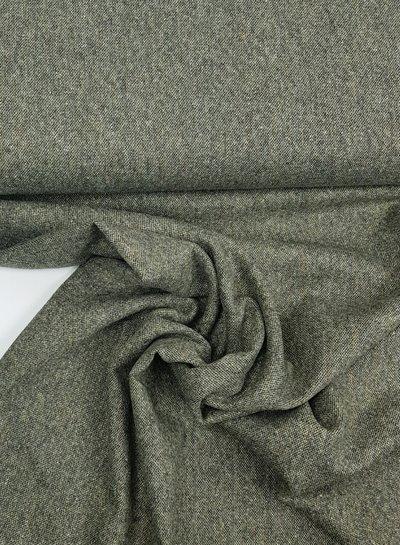 khaki tweed