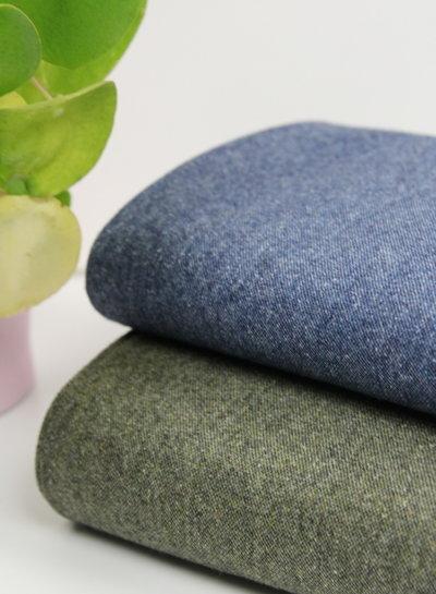 marineblauwe tweed