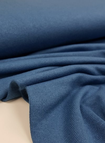 denim - finely knitted viscose jersey