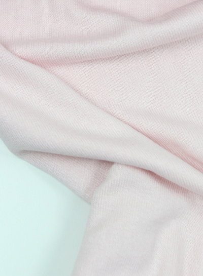 pink - finely knitted viscose jersey