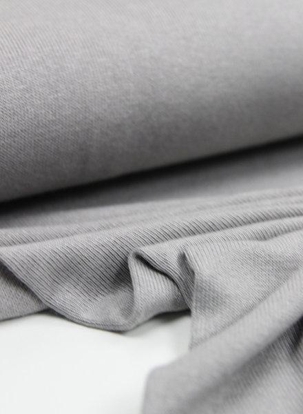 grijs fijngebreide - viscose jersey
