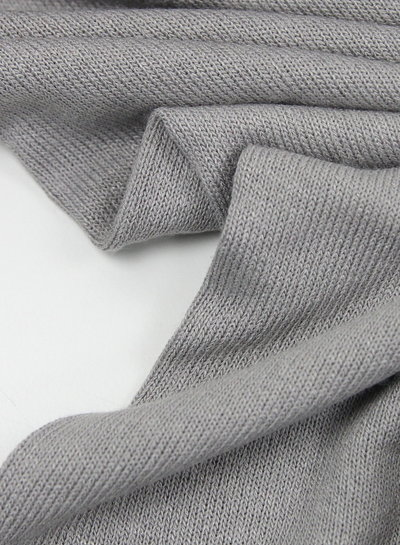 grey - finely knitted viscose jersey