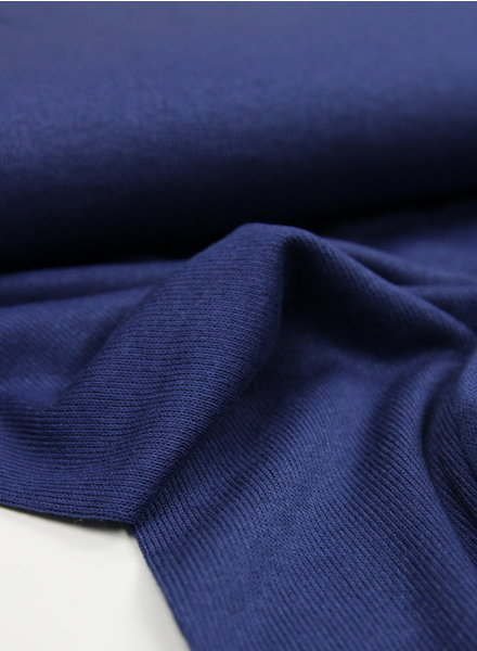 navy - finely knitted viscose jersey