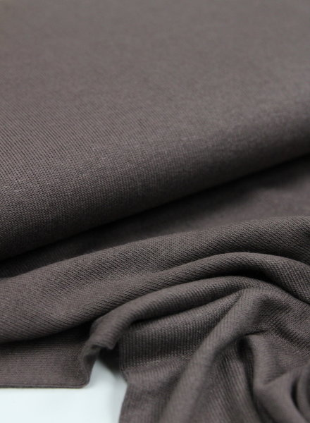 coffee - finely knitted viscose jersey