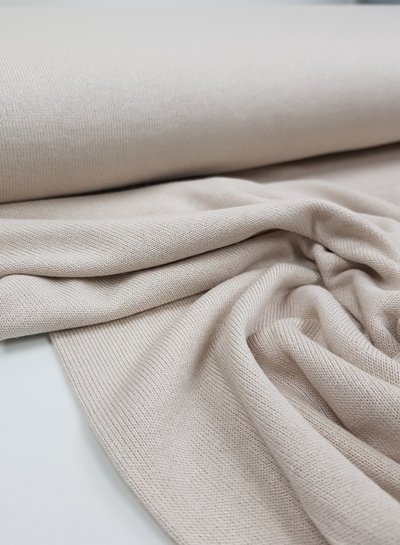 creme - finely knitted viscose jersey