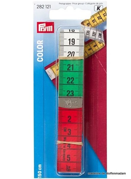 Prym tape mesure color 150cm/cm
