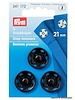 snap fasteners 15mm black