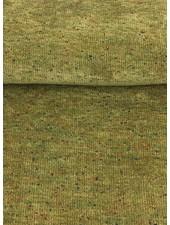 speckeld green - chenille