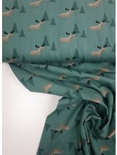 hertjes en boompjes - tricot