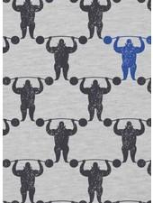 strong men grey - jersey