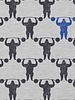 grijs sterke man - tricot