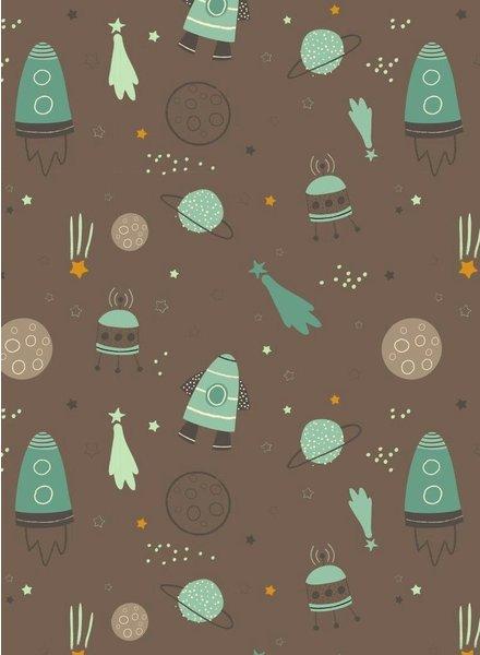 taupe space - sweater OEKO TEX