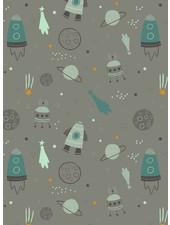 grijs space - sweater OEKO TEX