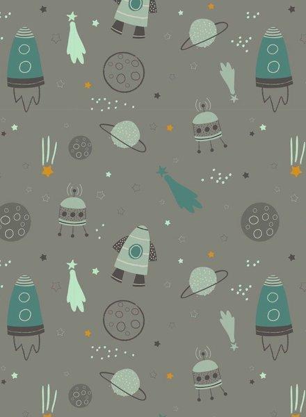 grey space - sweater OEKO TEX